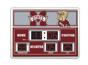 Mississippi State Bulldogs Scoreboard Clock