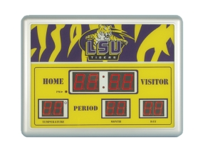 LSU Tigers Scoreboard Clock