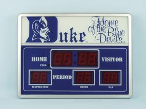 Duke Blue Devils Scoreboard Clock