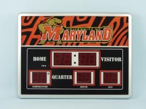 Maryland Terrapins Scoreboard Clock