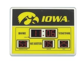 Iowa Hawkeyes Scoreboard Clock
