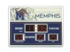Memphis Tigers Scoreboard Clock