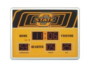 Oklahoma State Cowboys Scoreboard Clock