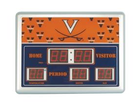 Virginia Cavaliers Scoreboard Clock