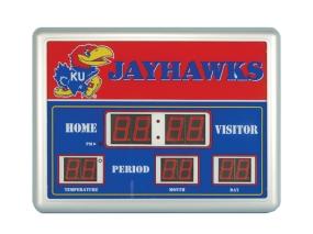 Kansas Jayhawks Scoreboard Clock