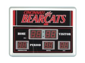 Cincinnati Bearcats Scoreboard Clock