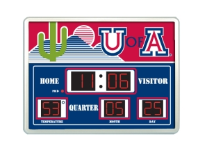 Arizona Wildcats Scoreboard Clock