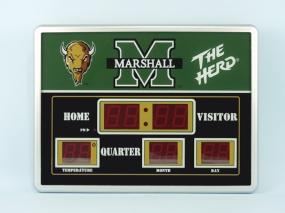 Marshall Thundering Herd Scoreboard Clock