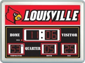 Louisville Cardinals Scoreboard Clock