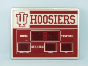 Indiana Hoosiers Scoreboard Clock