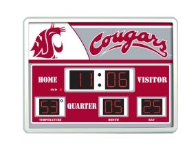 Washington State Cougars Scoreboard Clock