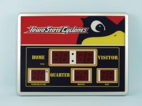 Iowa State Cyclones Scoreboard Clock