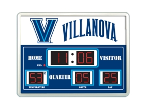 Villanova Wildcats Scoreboard Clock
