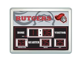 Rutgers Scarlet Knights Scoreboard Clock