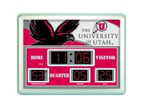 Utah Utes Scoreboard Clock