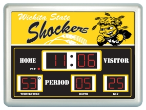 Wichita State Shockers Scoreboard Clock