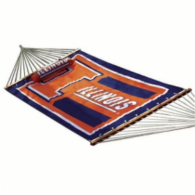 Illinois Fighting Illini Hammock