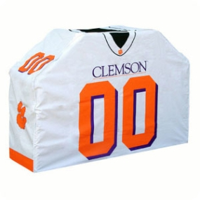 Clemson Tigers Jersey Grill Cover