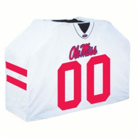 Mississippi Rebels Jersey Grill Cover