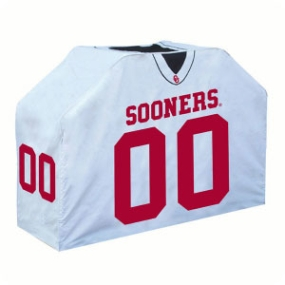 Oklahoma Sooners Jersey Grill Cover
