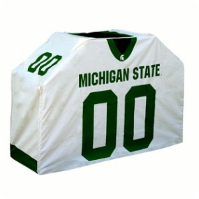 Michigan State Spartans Jersey Grill Cover