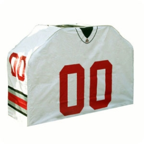 Ohio State Buckeyes Jersey Grill Cover