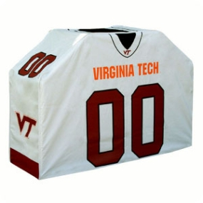 Virginia Tech Hokies Jersey Grill Cover