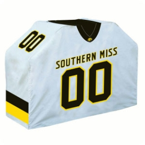 Southern Miss Golden Eagles Jersey Grill Cover