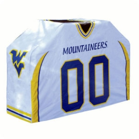West Virginia Mountaineers Jersey Grill Cover