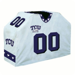 TCU Horned Frogs Jersey Grill Cover