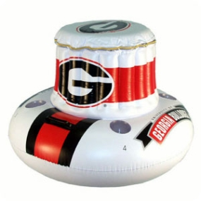 Georgia Bulldogs Floating Cooler