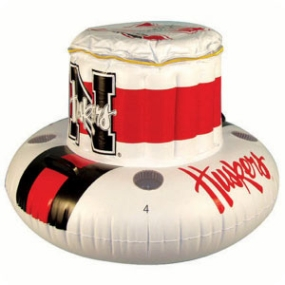 Nebraska Cornhuskers Floating Cooler