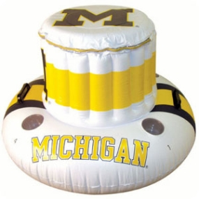 Michigan Wolverines Floating Cooler