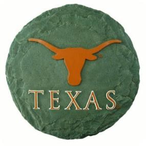 Texas Longhorns Garden Stone