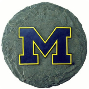Michigan Wolverines Garden Stone