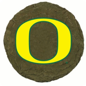 Oregon Ducks Garden Stone