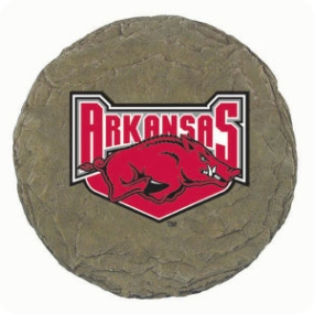 Arkansas Razorbacks Garden Stone