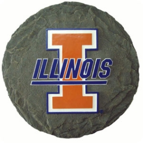 Illinois Fighting Illini Garden Stone