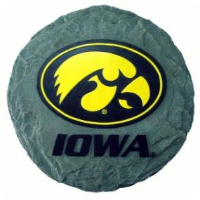 Iowa Hawkeyes Garden Stone