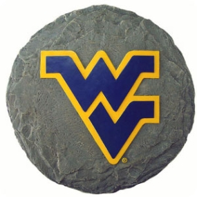 West Virginia Mountaineers Garden Stone