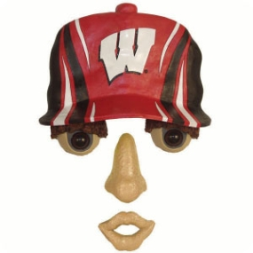 Wisconsin Badgers Forest Face