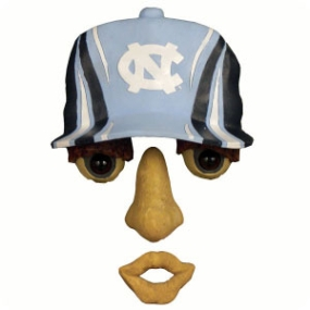 UNC Tar Heels Forest Face