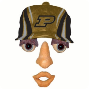 Purdue Boilermakers Forest Face
