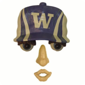 Washington Huskies Forest Face