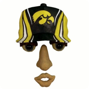 Iowa Hawkeyes Forest Face
