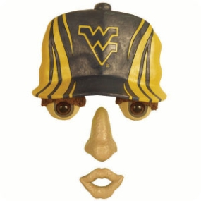West Virginia Mountaineers Forest Face