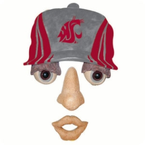 Washington State Cougars Forest Face