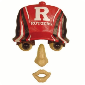 Rutgers Scarlet Knights Forest Face