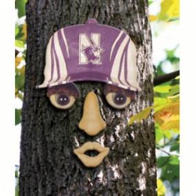 Northwestern Wildcats Forest Face