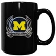 Michigan Flame Ceramic Mugs